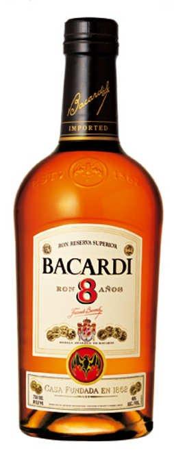 Bacardi rum 8y 0,7l 40%