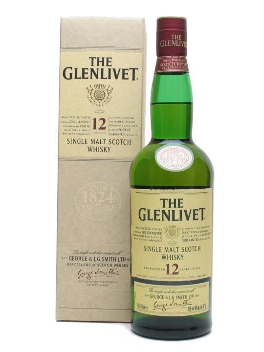 Glenlivet 12 yo 0,7 l