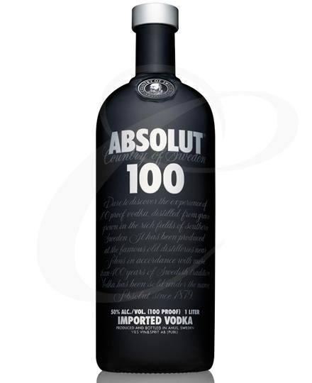 Absolut vodka 100 1l 50%