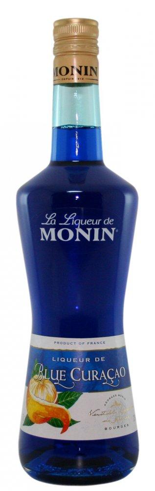 Monin Curacao Blue Liqueur 0,7l 20%