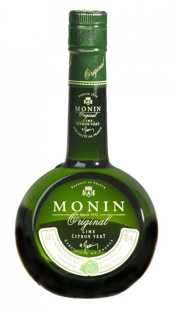 Monin Lime Vert Liqueur 0,5l 33% 0,5l