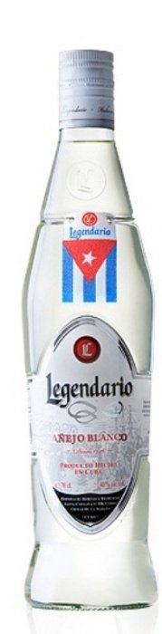 Legendario Rum Aňejo Blanco 4y 0,7l 40%