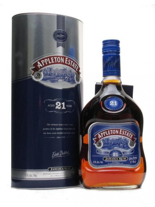 Appleton Estate 21y 0,7l 43%