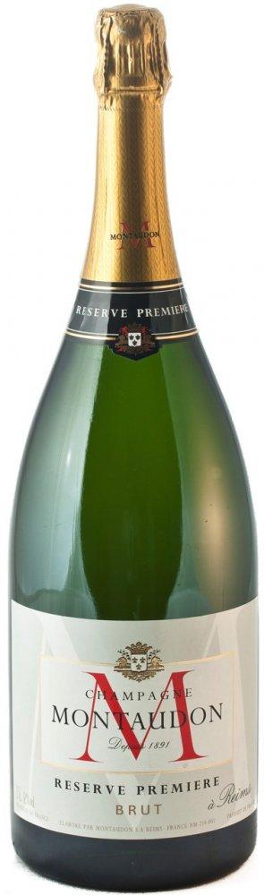 Montaudon Champagne Reserve Premiere Magnum Brut 1,5l 12%