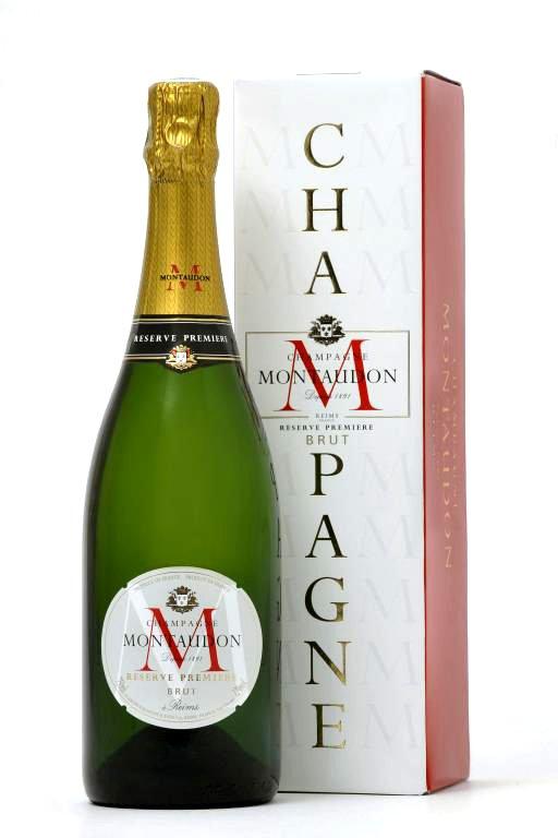 Montaudon Champagne Reserve Premiere Brut 0,75l 12%