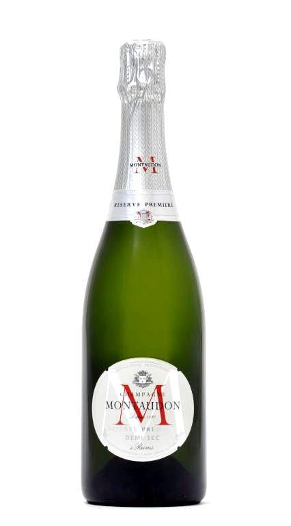 Montaudon Champagne Reserve Premiere Demi-Sec 0,75l 12%