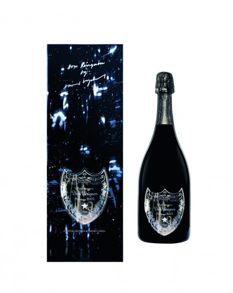 Dom Pérignon Blanc 2003 0,75l by David Lynch Giftbox