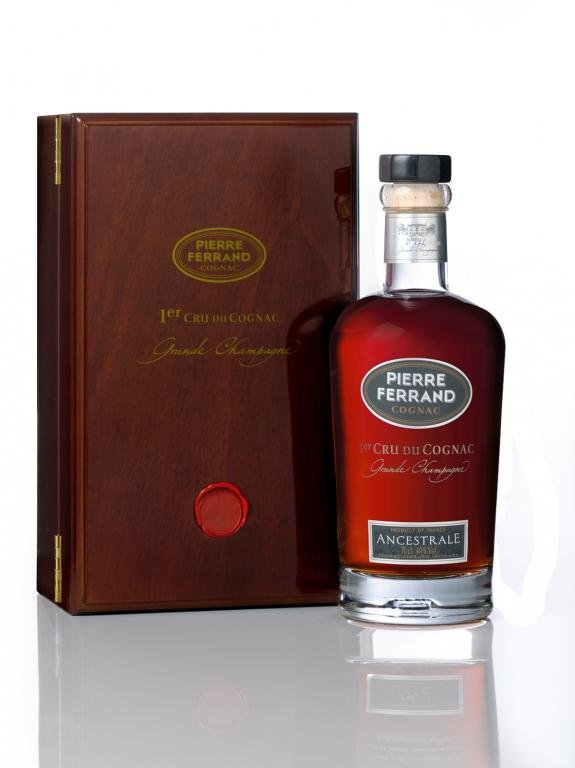 Pierre Ferrand Ancestrale 0,7l 40% - karafa