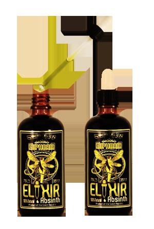Euphoria Elixir Absinth 0,1l 79%