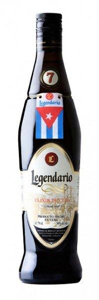 Legendario Elixir De Cuba 7 yo 0,7 l