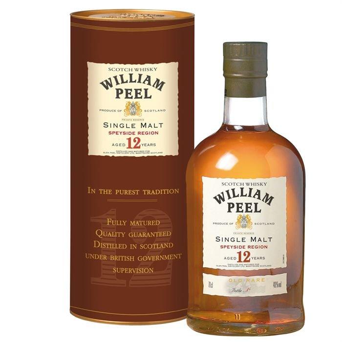 William Peel Single Malt 12y 0,7l 40%
