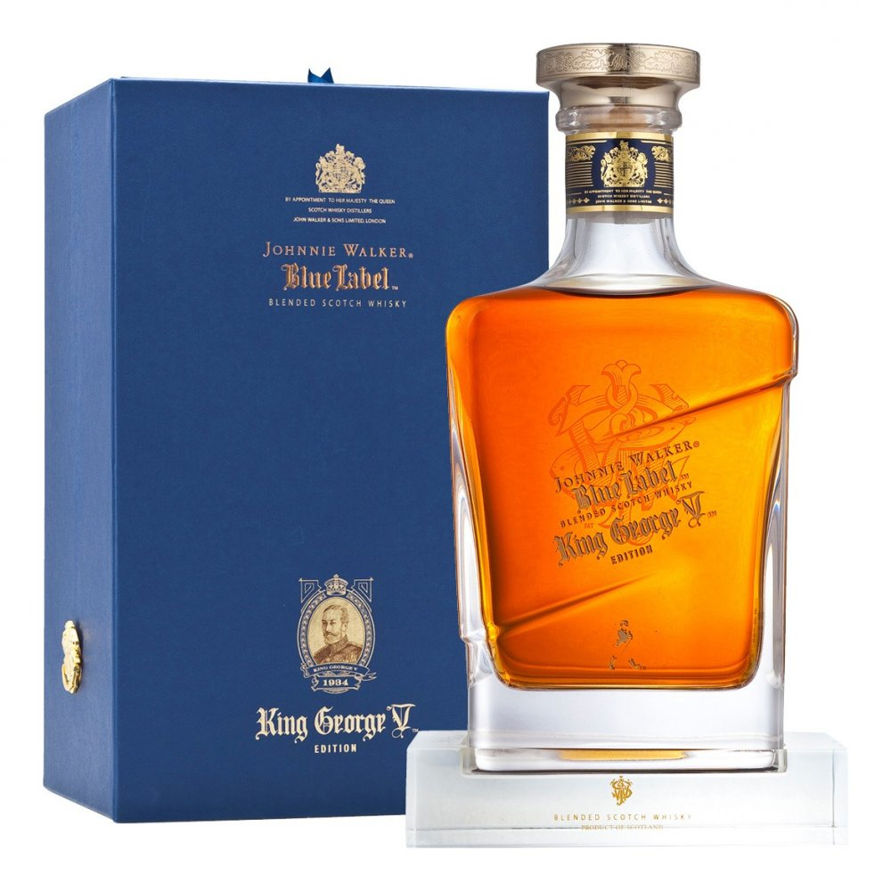 Johnnie Walker Blue King George V. 0,7l 43%