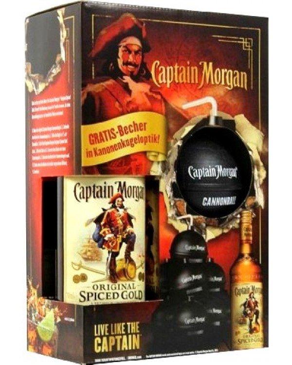 Captain Morgan Spiced + děl.koule 0,7l 35% GB