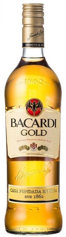 Bacardi Carta Oro 1l 37.5%