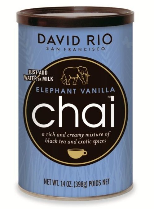 David Rio Elephant Vanilla Chai 389g
