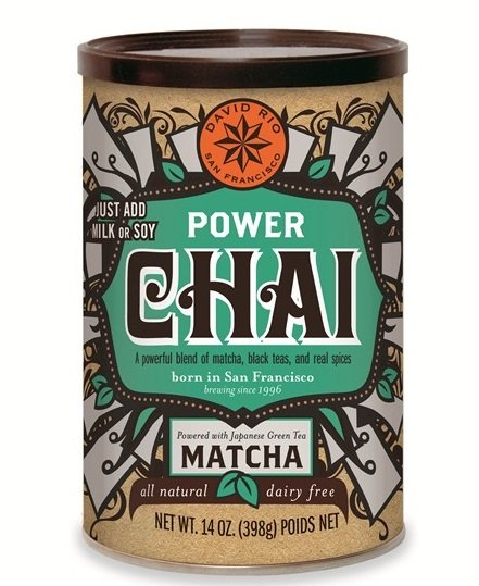 David Rio Power Chai Matcha 398g