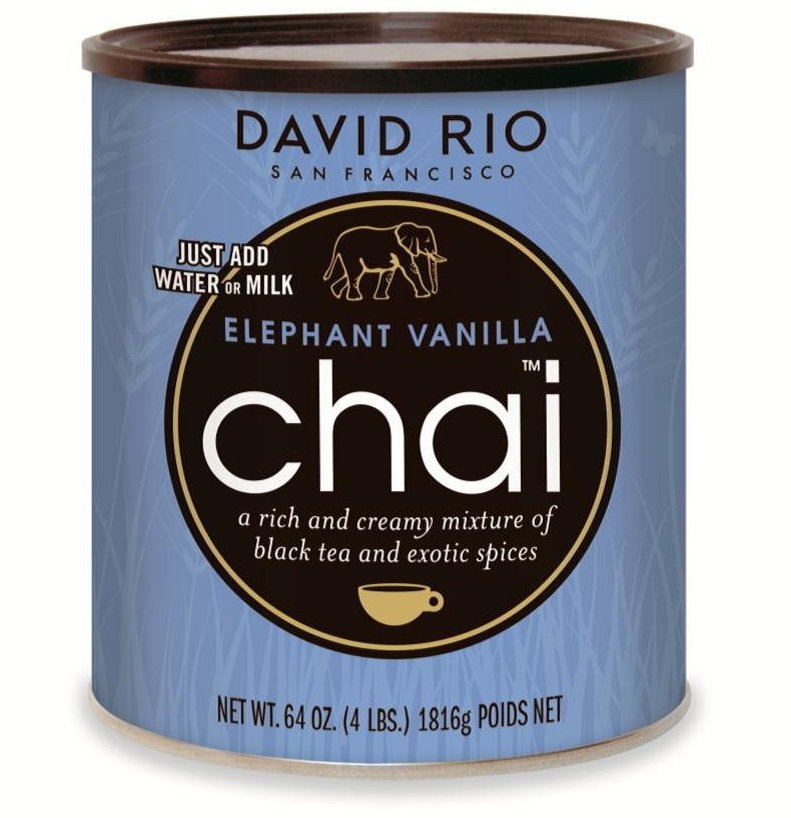 David Rio Elephant Vanilla Chai 1816g