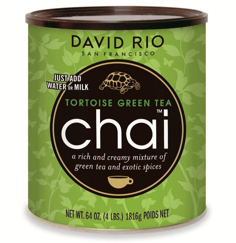 David Rio Tortoise Green Tea Chai 1816g