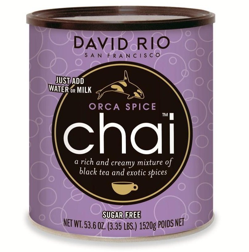 David Rio - Orca Spice SUGARFREE Chai 1520g