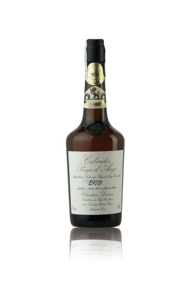Calvados Christian Drouin Millesime 1978 1l 42%