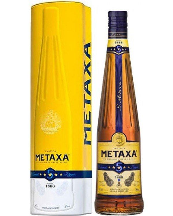 Metaxa 5* 0,7l 38% GB
