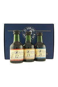 Rum El Dorado 12yo, 15yo, 21yo mini 3x5cl