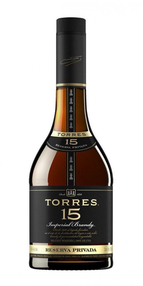 Torres Brandy 15y 0,7l 38%