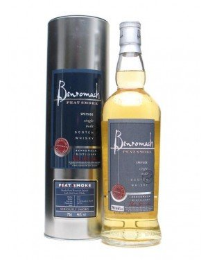 Benromach Peat Smoke Single Malt Whisky, 0.7l