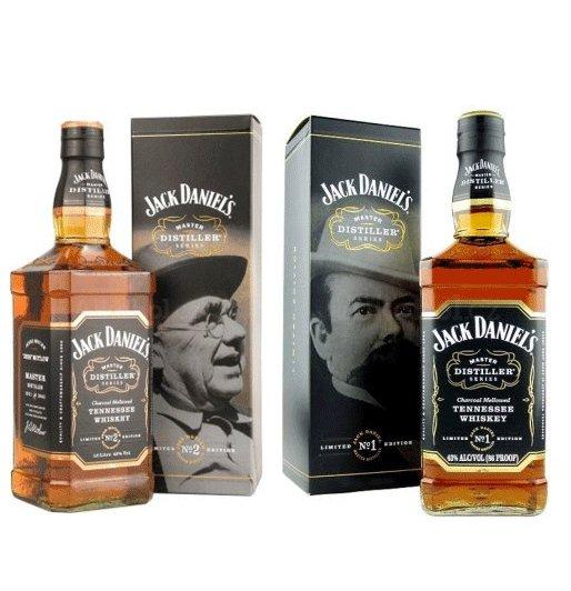 Jack Daniel's Master Distiller - zvýhodněná sada 2 v 1 43%