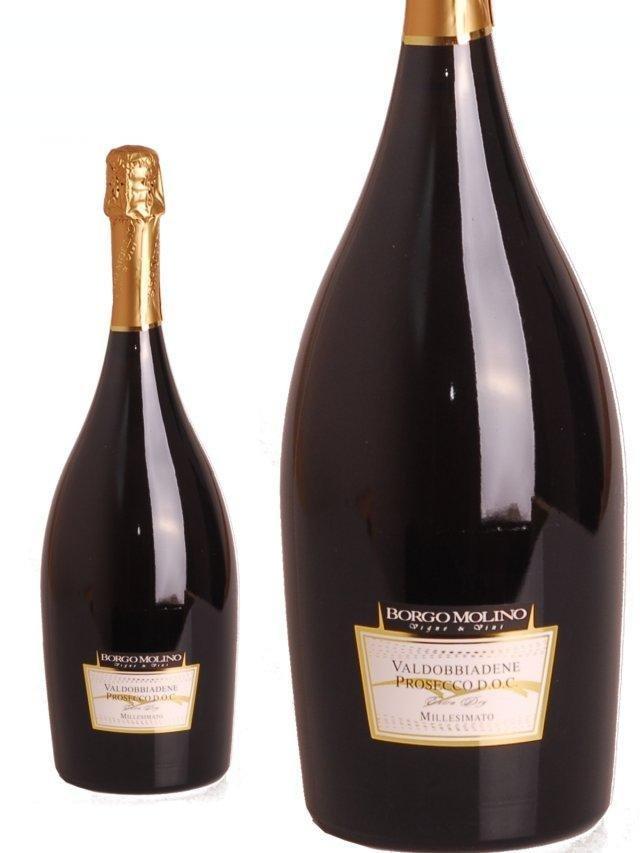 Borgo Molino Valdobbiadene Millesimato Extra Dry 0,75l 11%