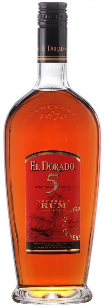 Rum El Dorado 5YO 0,7l 40%