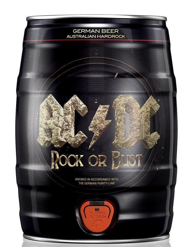 AC/DC Beer plech soudek 5L