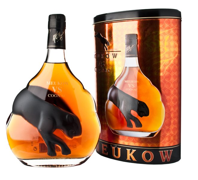 Meukow V.S. Black Tin 0,7l 40%