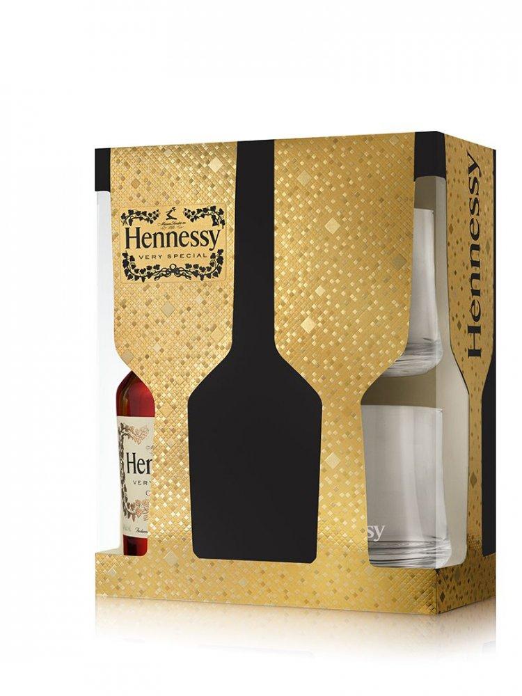 Hennessy VS 0,7l 40% + 2x sklo