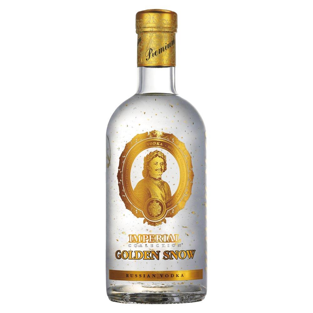 Vodka Carská ( Cárskaja ) - GOLDEN SNOW 0,7 l