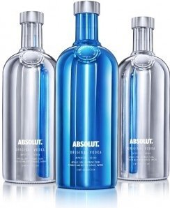 Absolut vodka Electrik 0,7l