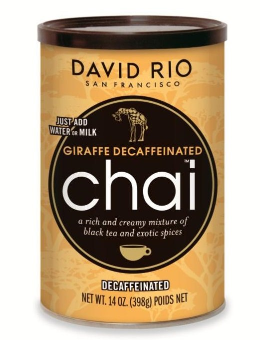 David Rio Tiger Spice Decaffeinated Chai 389g