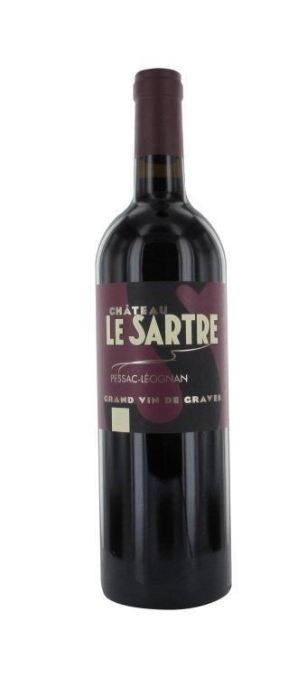Château Le Sartre Rouge Pessac-Léognan 2012 0,75l 13.5%