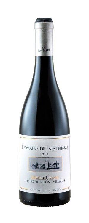 """Domaine de la Renjarde Côtes Du Rhône """"Massif d´Uchaux"""" 2012 13,5%"""