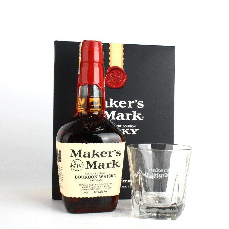 Maker´s Mark 0,7l 45% + sklenička
