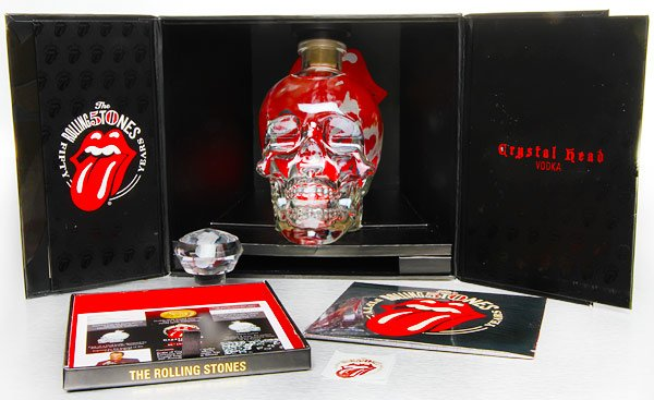 Vodka Crystal Head 0,7l 40% Rolling Stones