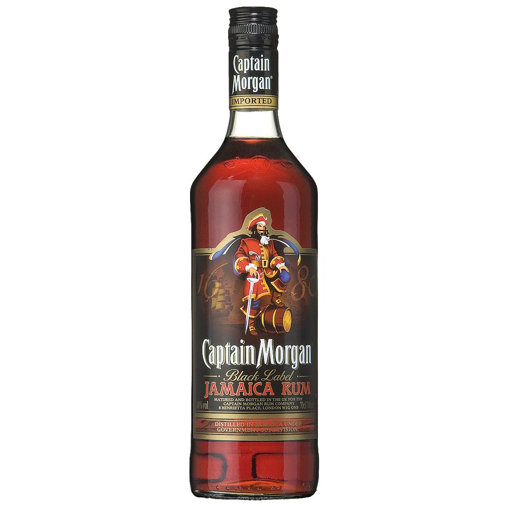 Captain Morgan Black 0,7l 40%