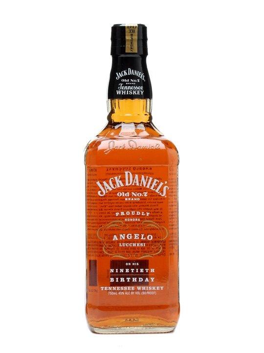 Jack Daniel´s Angelo Lucchesi 90th Birthday 0,7l