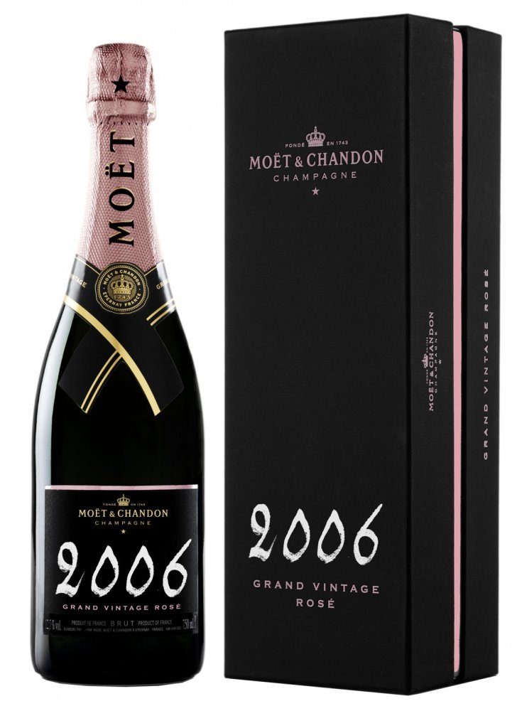 Moët & Chandon Grand Vintage Rosé 2006 0,75l GB