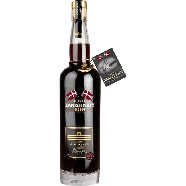 A.H.RIISE ROYAL DANISH NAVY STRENGHT RUM 0,7L 55%