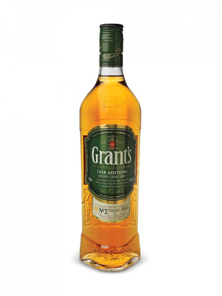 Grants Sherry Cask Finish 0,7l 40%