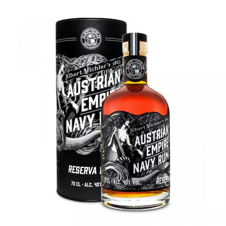 Austrian Empire Navy Rum Reserva 1863 0,7l 40% GB