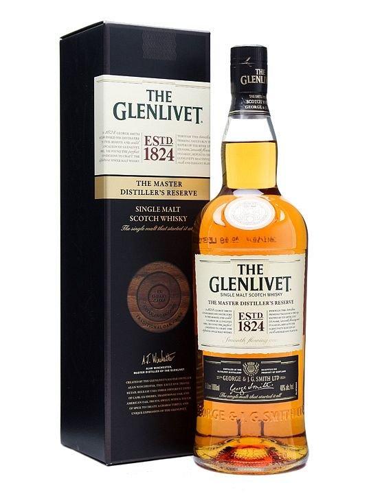 The Glenlivet Master Distiller´s Reserve 1l 40%