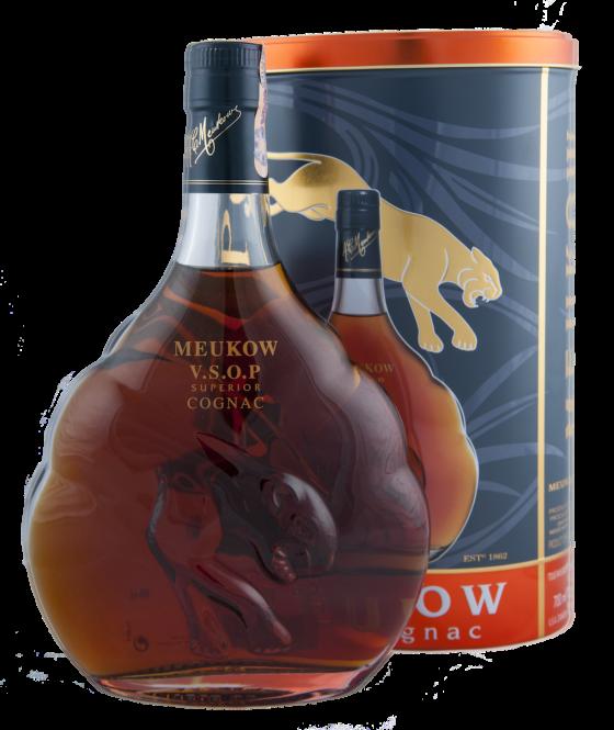 Meukow V.S.O.P. Tin 0,7l 40%