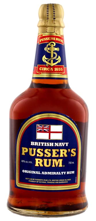 Pusser´s British Navy Rum 0,7l 40%